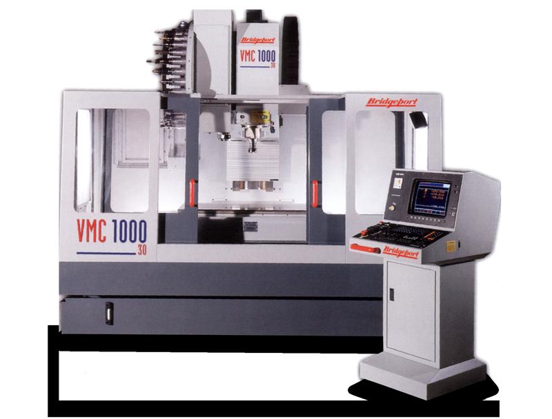 BRIDGEPORT VMC 1000/22 CNC Fräsmaschine