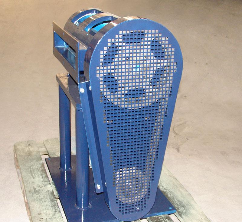 Zerhacker für Aluminium-Saumschrott