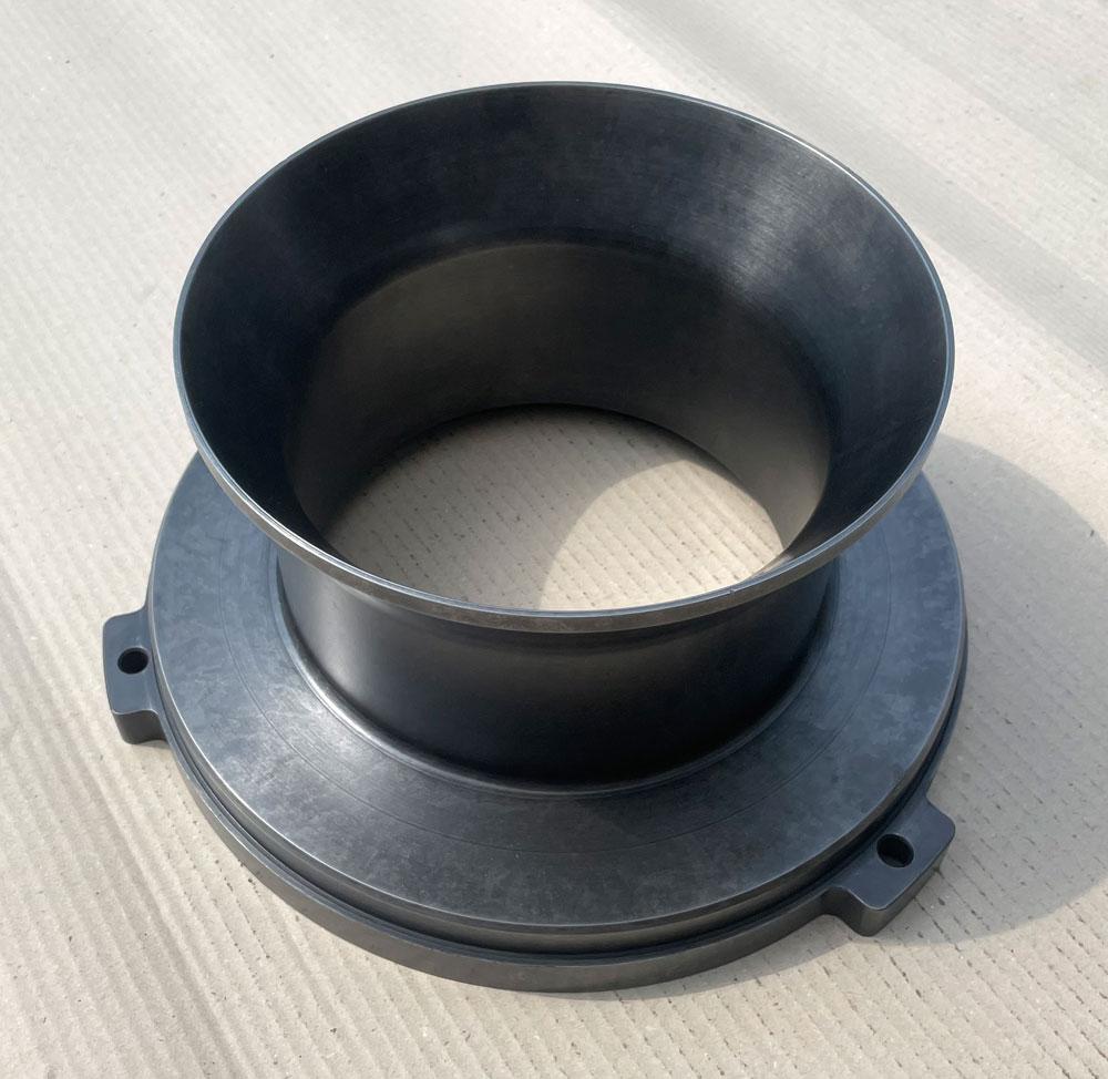Zentrierstück aus 16MnCr5, gasnitriert