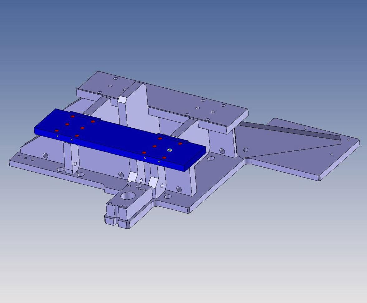STEP-Modell zu einem Schweißteil aus dem Sondermaschinenbau